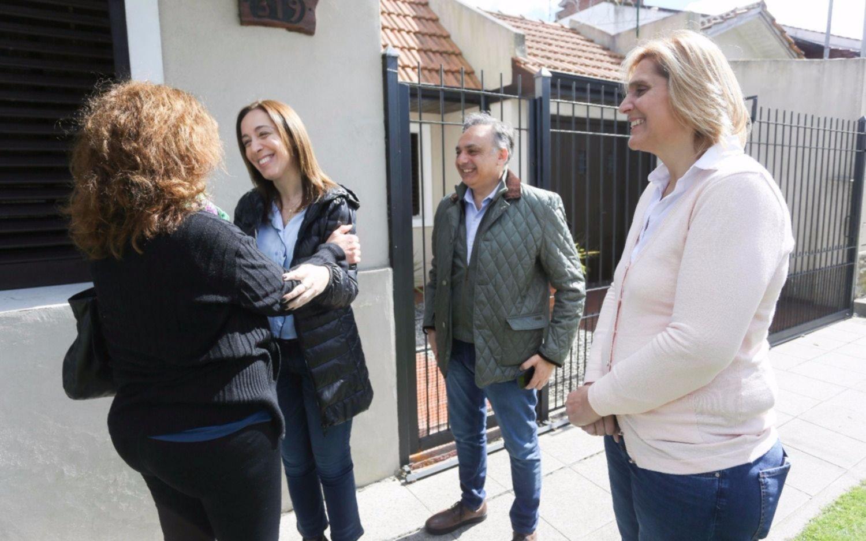 Mauricio Macri relanzó la campaña con un timbreo en Entre Ríos
