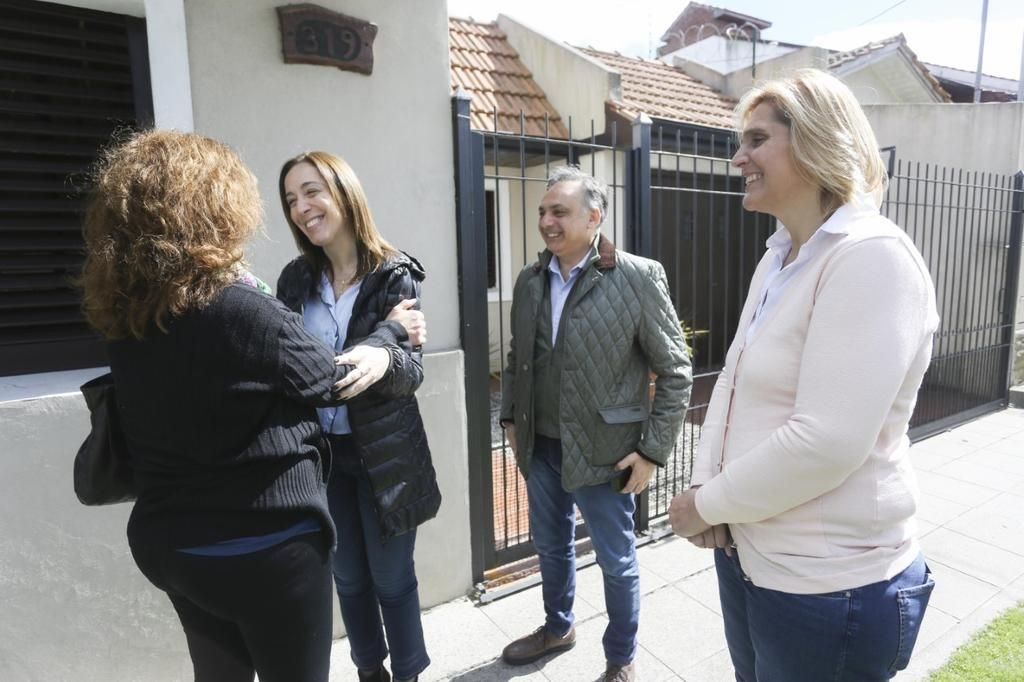 Vidal eligió Mar del Plata en el retorno de los timbreos