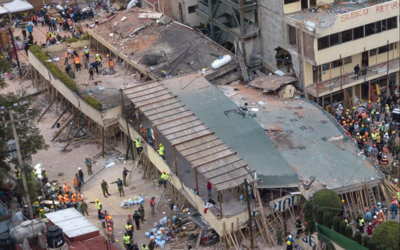 Continúa subiendo la cifra de muertos por el terremoto de México