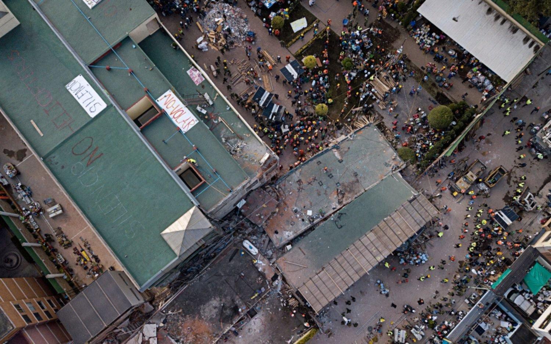 Impresionante el rescate de víctimas tras sismo en México