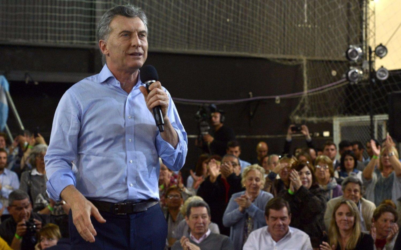 Macri encabeza inauguraciones y actos en Chaco