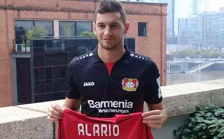 Alario fue habilitado por la FIFA para jugar por Bayer Leverkusen