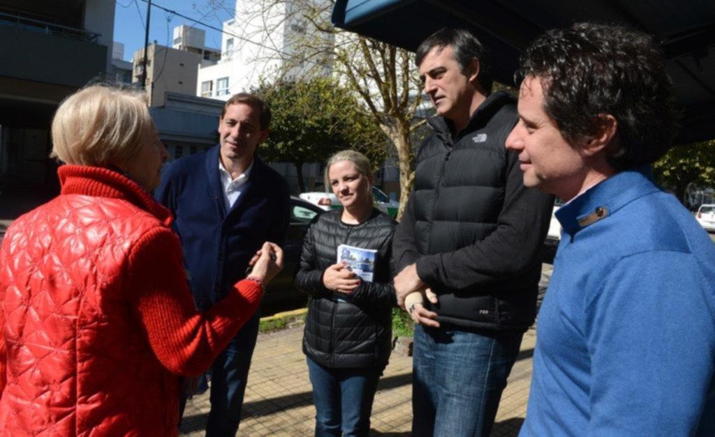 Bullrich timbreó en La Plata junto a Piparo y Garro