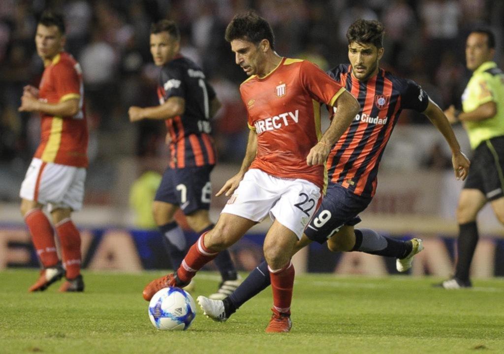 San Lorenzo goleó a Estudiantes en el cierre de la fecha