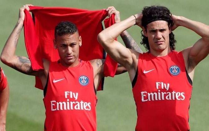 La pelea entre Cavani y Neymar, una historia sin fin