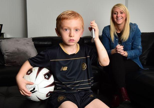 Niño fiel al Celtic: con 5 años llamó al club y se disculpó por haberse perdido el último partido