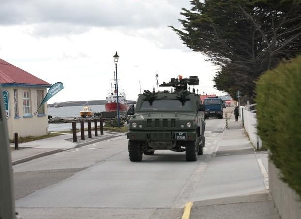 Fuerte rechazo del Gobierno a los ejercicios militares de Londres en las Islas Malvinas