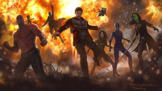 Adelanto de Guardians of the Galaxy II promete humor y acción
