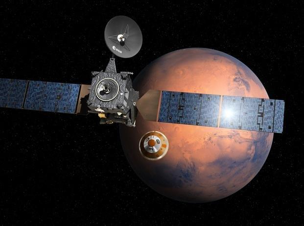 La misión ExoMars puso en marcha su primera etapa