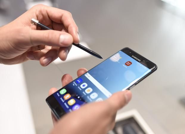 Samsung probó las baterías del Note 7 en su propio laboratorio
