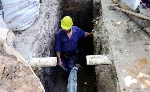Cambiarán casi 30 km de antiguas tuberías