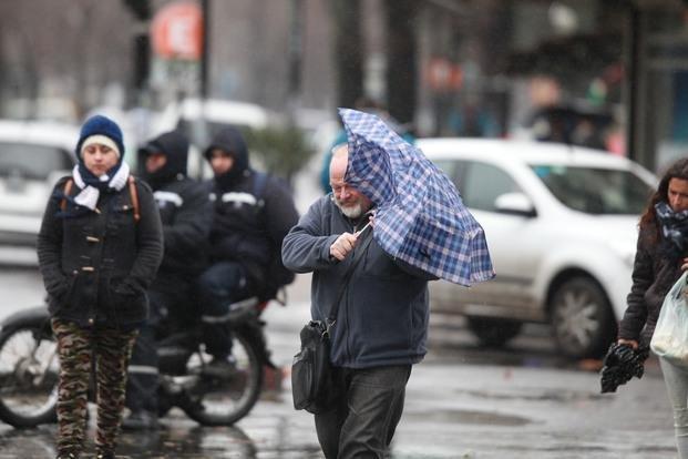 Miércoles con lluvias y tormentas en la Ciudad