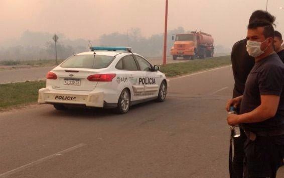 Tres incendios en San Luis: evacuados y graves daños