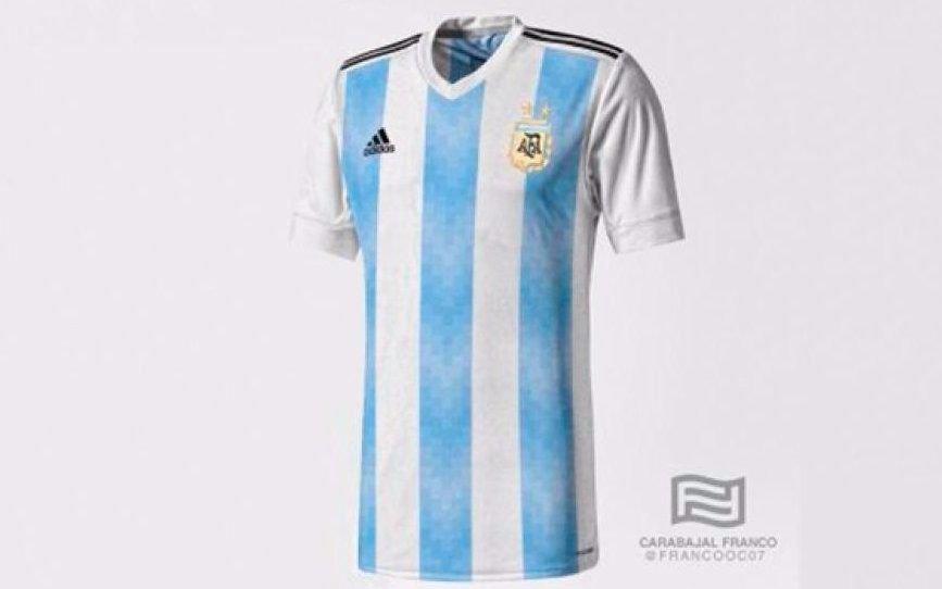 Se filtró la camiseta que la Selección usaría para el Mundial