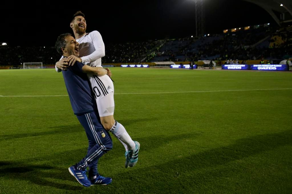 Leo Messi, el joven de pecho caliente