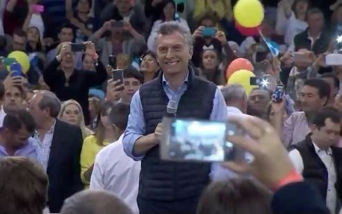 """En La Pampa, Macri dijo que vino a """"cambiar la historia para siempre"""""""