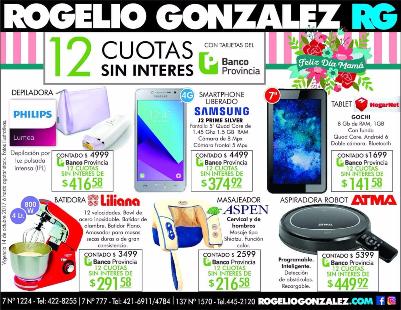 Gran financiación en Rogelio Gonzalez