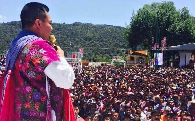 Un alcalde mexicano dio un discurso completamente borracho