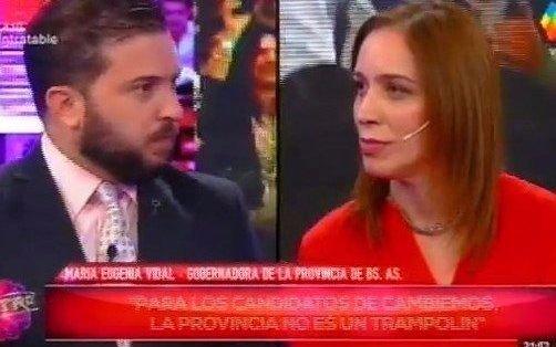 Vidal le apuntó a los candidatos de Cristina y otra vez se cruzó con Brancatelli