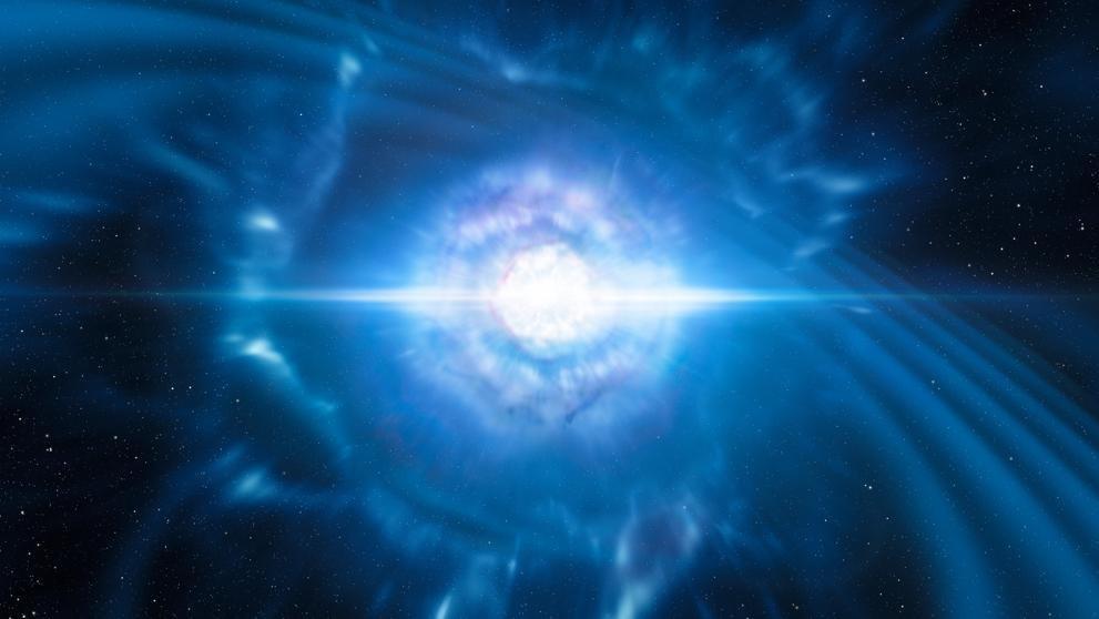 Histórico hallazgo sobre la fusión de estrellas