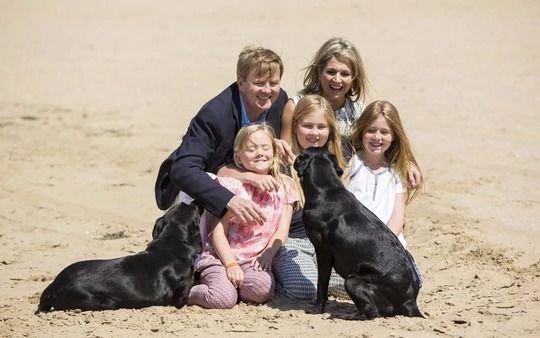 Máxima y su familia están en Puerto Madryn