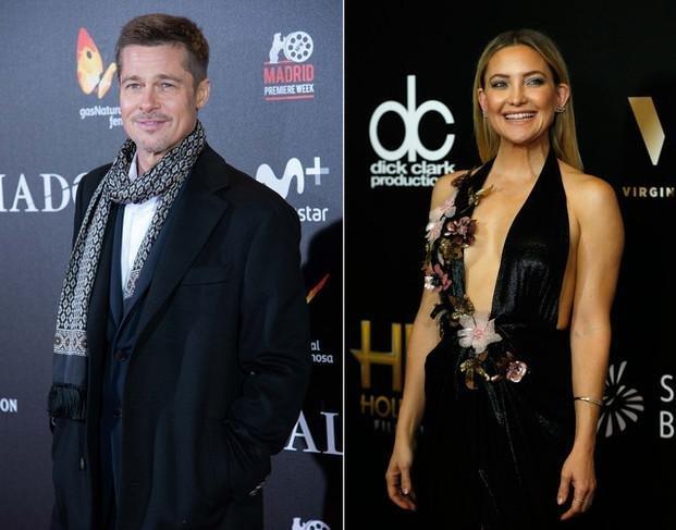 Aseguran que Brad Pitt y Kate Hudson están viviendo un intenso affaire