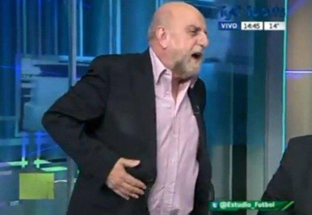 El insulto de Pagani en vivo contra uno de sus compañeros