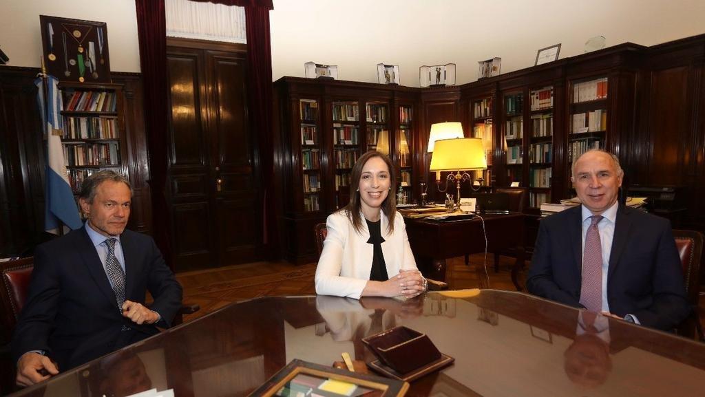 Vidal visitó a Lorenzetti — Fondo del conurbano