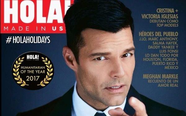 Ricky Martin es reconocido por su labor filantrópica