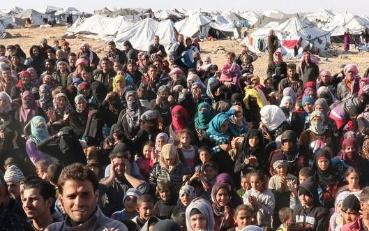 Más de la mitad de los refugiados del mundo son sirios
