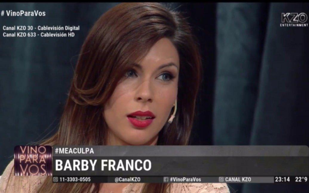 """""""Mi papá me gatillaba con un arma en la cabeza"""", la dura confesión de Barby Franco"""