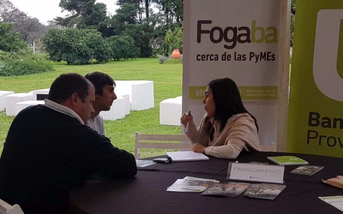La Provincia, a través de FOGABA, otorga mayor cantidad de garantías a las PyMEs