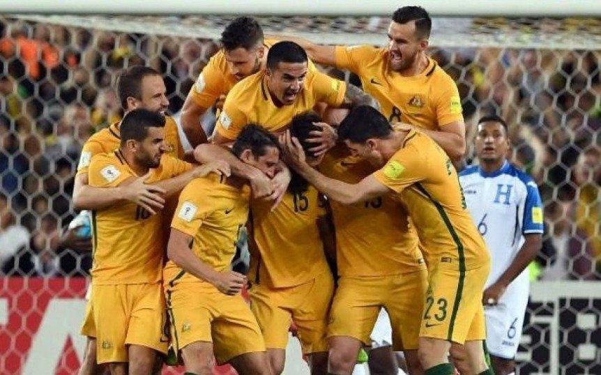 Australia ganó el repechaje y es el clasificado número 31 para Rusia 2018