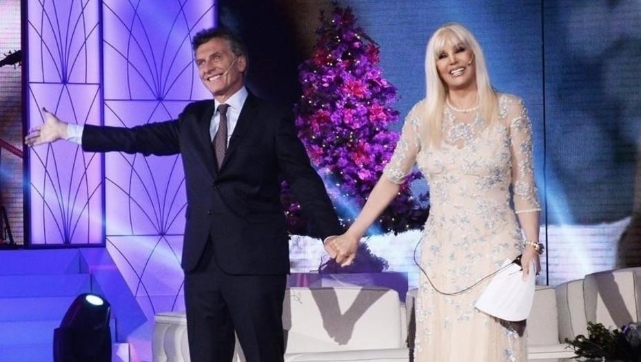 Susana Giménez entrevistará a Macri en el penúltimo programa del año