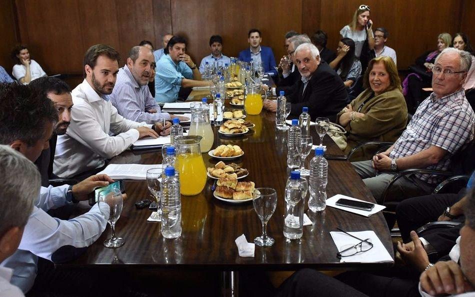 El ministerio de producci n present una agenda de trabajo for Ministerio produccion