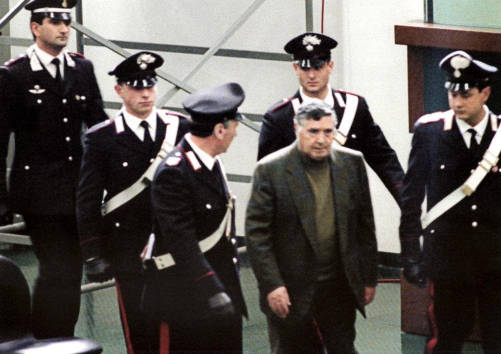 "Murió Salvatore ""Totó"" Riina, el histórico y temido jefe de la Cosa Nostra siciliana"