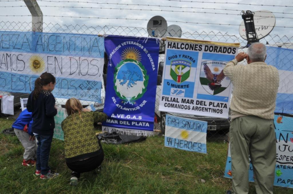 Mejora el clima y Argentina acelera la búsqueda del submarino