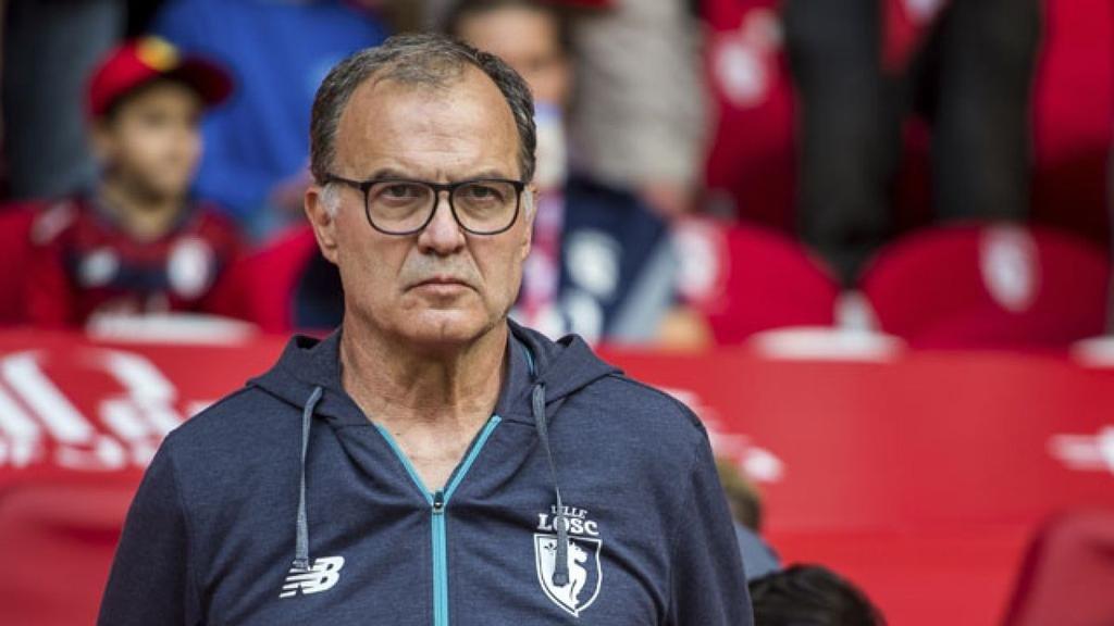 El Lille echó a Marcelo Bielsa