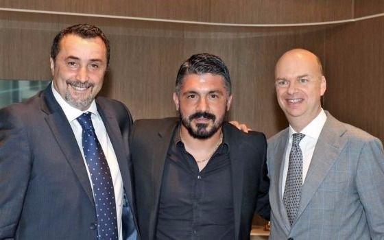 Gennaro Gattuso, nuevo DT del AC Milan
