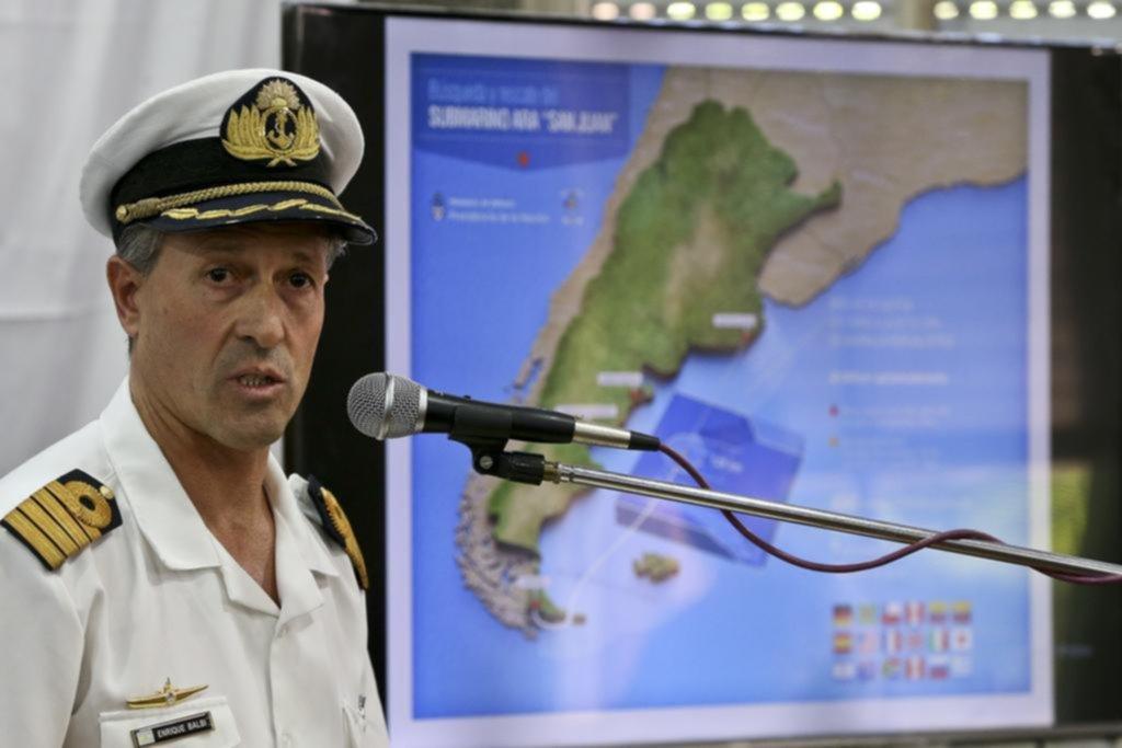 Se reduce el radio de búsqueda del ARA San Juan
