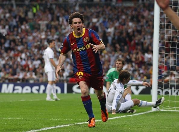 Messi lleva cinco clásicos sin poder convertir un gol