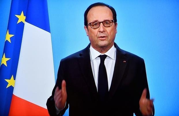 Hundido en los sondeos, Hollande no se presentará a la reelección