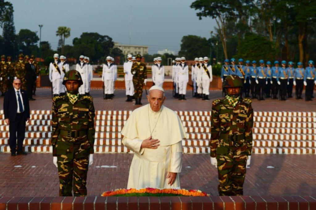 El Papa habla por primera vez de