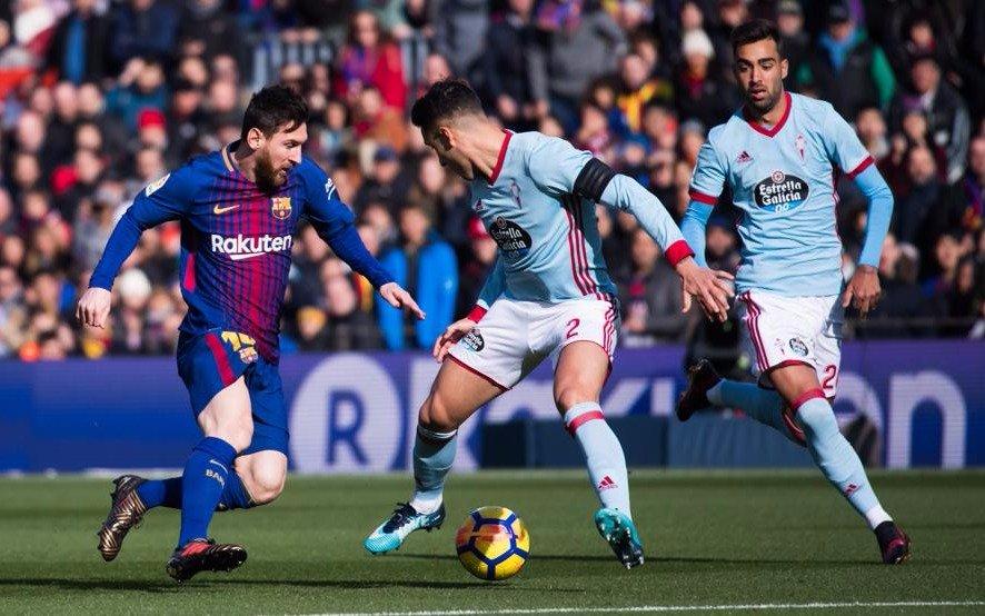 Celta arrebata sorpresivo empate al Barcelona en el Camp Nou