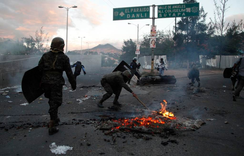 Toque de queda en Honduras para frenar violencia