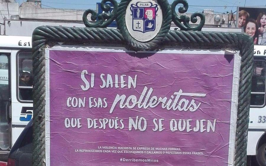 Pilar lanzó una confusa campaña para combatir la violencia de género