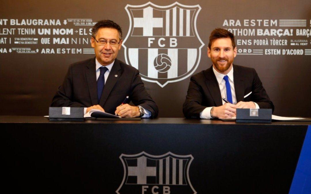 Números desorbitantes la fortuna que Barcelona le pagará a Messi por temporada