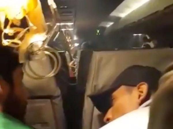 Terror en un vuelo de Oriente Petrolero por una falla técnica