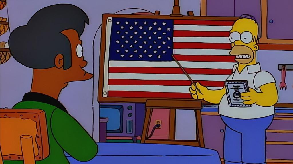 """Los vientos de cambio de Hollywood podrían llevarse a Apu de """"Los Simpson"""""""