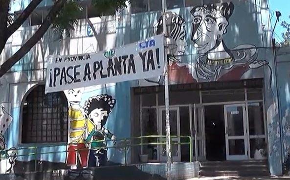 Video: conflicto gremial en la Secretaría de Niñez